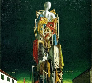 Painting The Great Metaphysician, Giorgio de Chirico, 1924