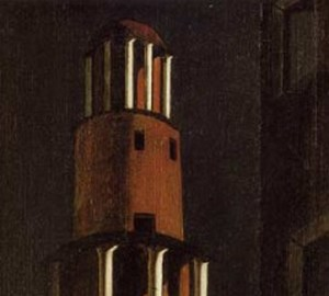 Painting Tower, Giorgio de Chirico, 1913