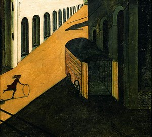 Melancholy and the mystery of the street, Giorgio de Chirico