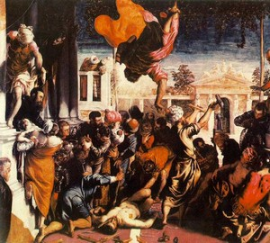 The miracle of St. Mark, Jacopo Tintoretto