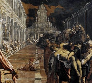 The abduction of the body of St. Mark, Jacopo Tintoretto