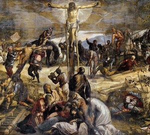 """Crucifixion"", Tintoretto – description of the painting"