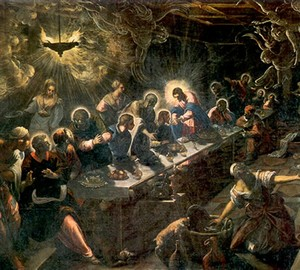 The Last Supper, Tintoretto – description of the painting