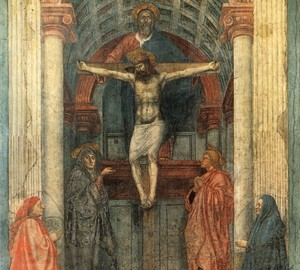Trinity, Masaccio – description