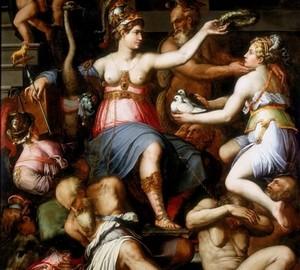 Allegory of Justice, Giorgio Vasari